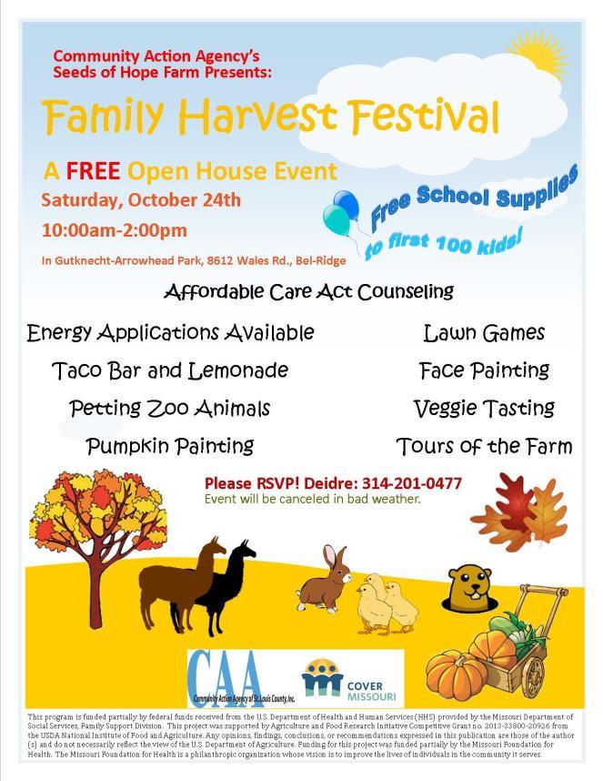 Harvest Festival 2015