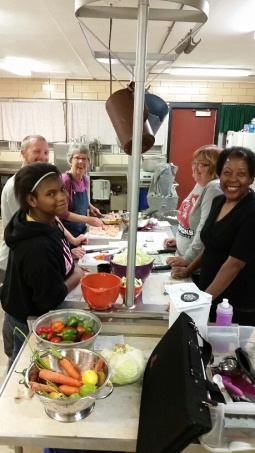 Our monthly dinners provide a fun, free, and accessible way for the whole family to learn about cooking. Our dinners are farm-fresh and delicious!