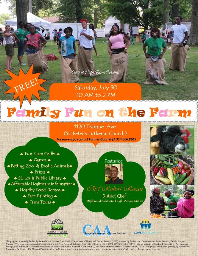 2016 Fun on the Farm Flyer