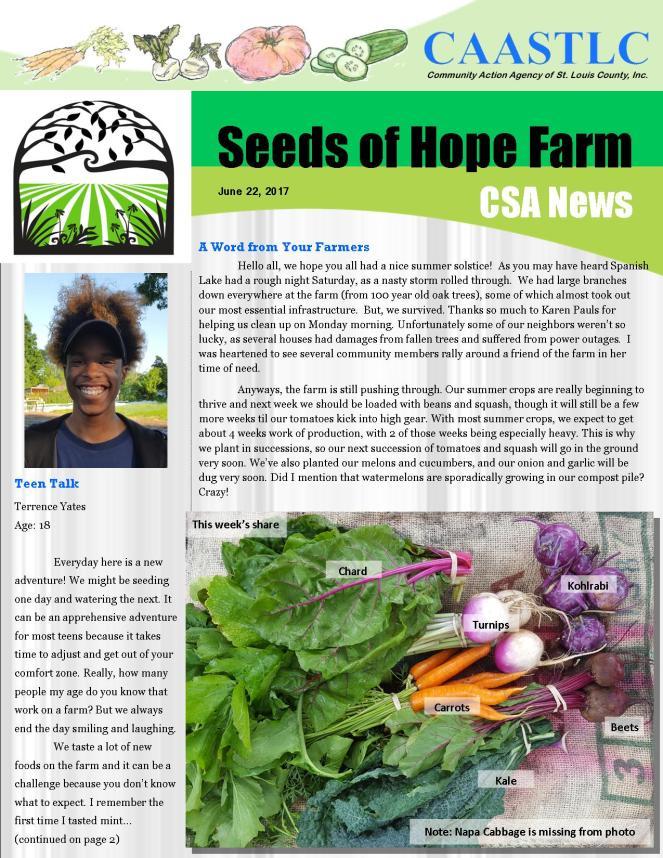 5_CSA Newsletter 06.22.2017 pg1