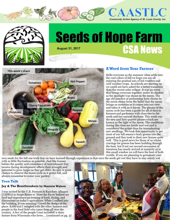 15_CSA Newsletter 08.31.17 pg 1