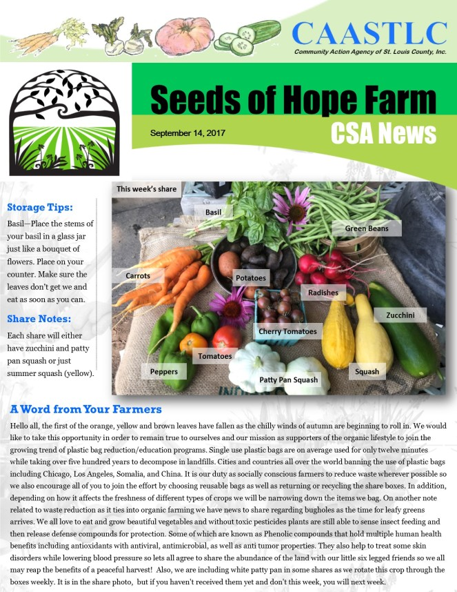 17_CSA Newsletter 09.14.2017 pg 1