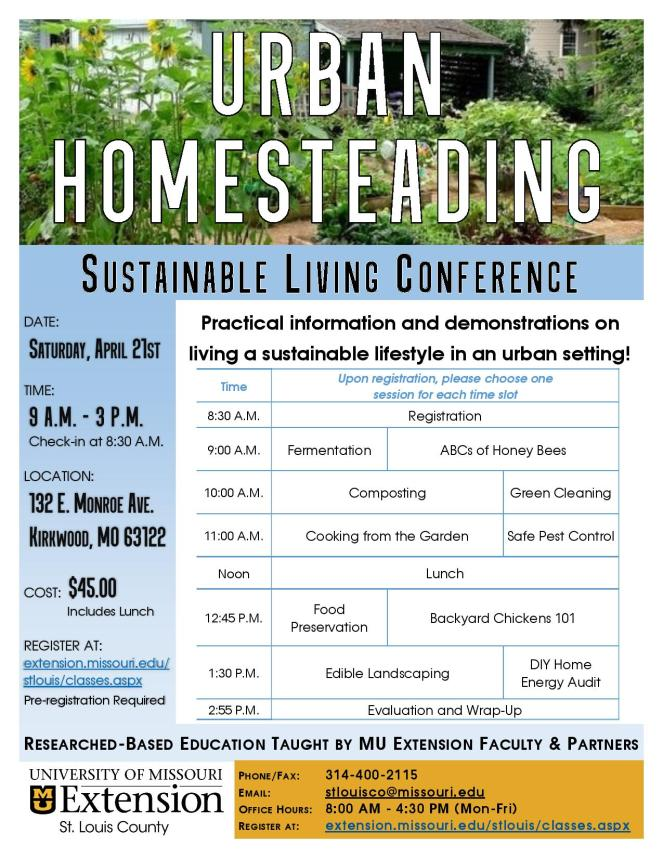 MU Extension St Louis County - Urban Homesteading Conference-page-001