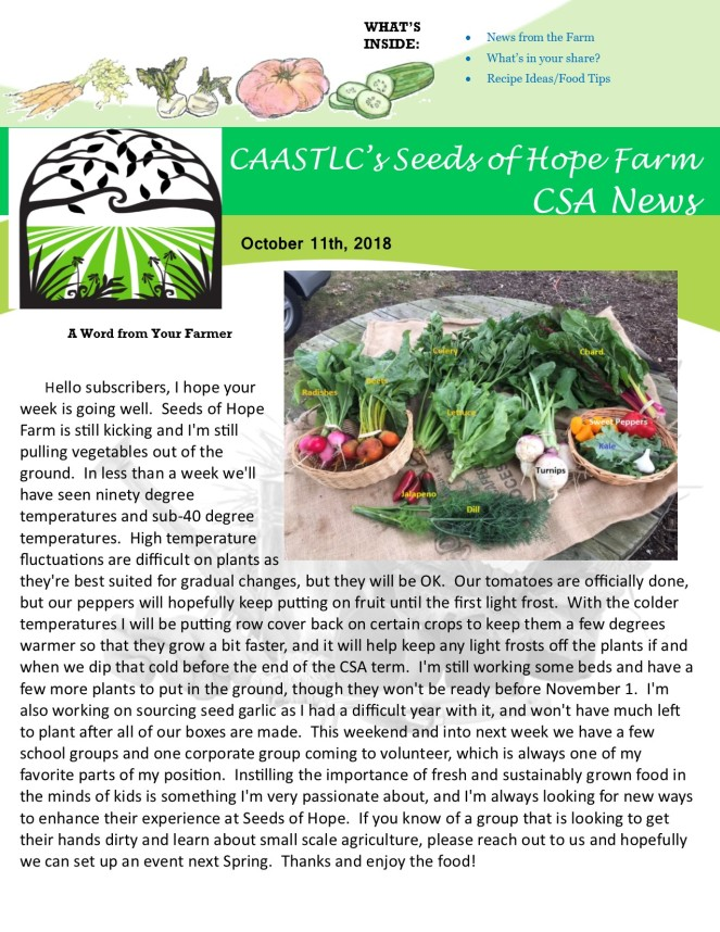 10.11 2018 CSA Newsletter pg 2