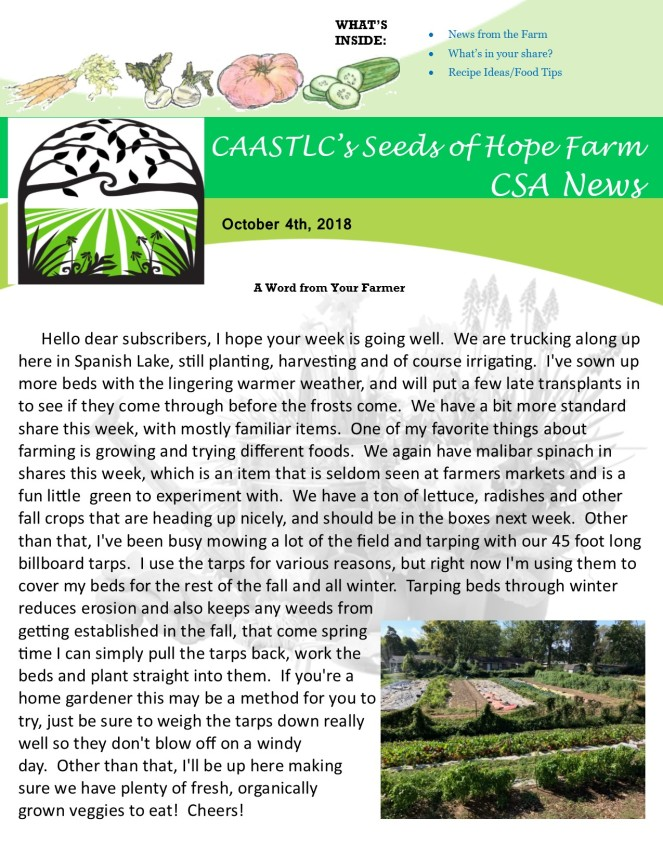 10.4 2018 CSA Newsletter pg 1